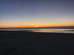 Schon schn am Meer (blichb) Tags: blichb 2016 stpeterording schleswigholstein deutschland iphone iphoneografie sonnenuntergang nordsee wattenmeer strand meer wasser sonya7rii
