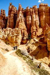 Hiking from sunset to sunrise point at Bryce (kc_hoang) Tags: brycecanyonnationalpark lifeelevated worldtravel travelplanet worldwidelandscapes hiking tamminhphotography