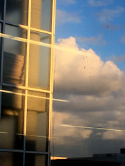 Space and Time_4988_Sept 1, 2016 (glantine) Tags: space time 2016 digitalimage hamilton ontario clouds nuages architecture surraliste stillness