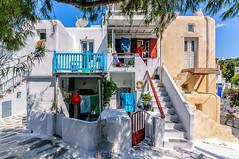 Abode (Kevin R Thornton) Tags: d90 nikon travel street mediterranean greece mykonos city architecture mikonos egeo gr