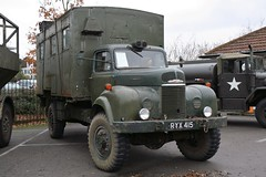 1956 Commer Q4 (davocano) Tags: ryx415 brooklands militaryvehiclesday