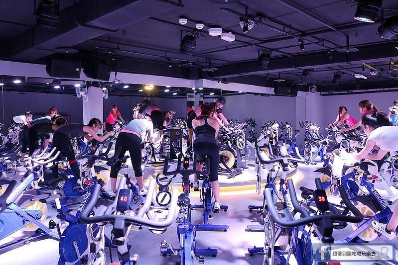 台北松山南京復興站健身房  MUZICYCLE 飛輪拳擊課程190