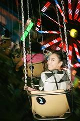 - (Luke Lacasa) Tags: leica minilux summarit 40mm film portra 400 35mm kodak camp flog gnaw odd future carnival usc dtla los angeles memorial colisseum asian girl