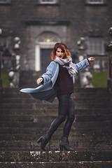 Raminta (Sigita JP) Tags: naturallightphotography naturallightportrait model outdoors action redhair