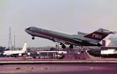 N845TW Boeing 727-31 cn 18754 ln 84 Trans World Airlines Phoenix Sky Harbor 17Oct78 b (kerrydavidtaylor) Tags: phoenixskyharborinternationalairport arizona kphx phx boeing727 boeing727100 twa