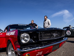 2016 Historic Zandvoort Trophy: Ford Mustang (8w6thgear) Tags: 2016 historiczandvoorttrophy zandvoort ford mustang touringcar paddock nkhtgt