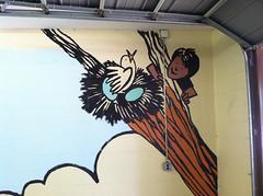 Cornell Hall mural