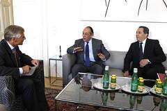 Generalsekretär Linhart trifft Staatssekretär von Tunesien Chleyfa