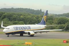 EI-ESR (Rob390029) Tags: airport edinburgh aircraft aviation transport jet civil transportation boeing arrival ryanair fr edi civilian 737 taxiing b737 egph 738 b738 ryr eiesr