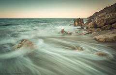 Tide (Photo Lab by Ross Farnham) Tags: ocean seascape beach water nikon rocks le lee filters d800 1635mm leucate heliopan