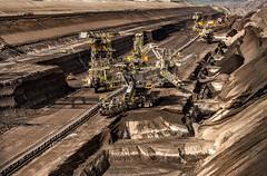Der Hunger nach Energie (Rudolf Speth) Tags: brown energy energie mining strip coal lausitz braunkohle vattenfall welzow