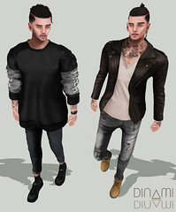 By Ur Side (MATTY // *OMG*) Tags: new man male look leather fashion shirt tattoo ink hair skinny gold necklace blog sweater outfit clothing shoes pants mesh boots watch style ears cx minimal sneakers wear clothes sl chain jeans event jacket secondlife bracelet mens sneaker denim cropped urbano sweatshirt tight xin nsb zip cuffs styling loose tucked baggy speakeasy tats ohayo lotd tmd bolson cuffed notsobad modulus masaru coldash aitui hoorenbeek 2byte themensdept fashionfair2015