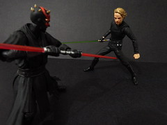 Darth Maul vs Luke Skywalker (Matheus RFM) Tags: starwars lukeskywalker darthmaul bandai shfiguarts figurarts