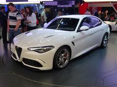 IAA 2015: Alfa Romeo Giulia (harry_nl) Tags: germany deutschland frankfurt alfaromeo giulia iaa 2015