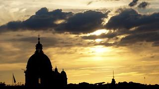 Sunset // Rome