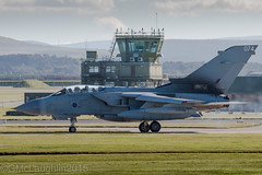 Tonka and Tower (GWMcLaughlin) Tags: plane canon airplane scotland flying exercise aircraft aviation military airplanes flight aeroplane planes warrior bomber tornado ef joint raf aeroplanes avion roebuck lossiemouth 2015 panavia gr4 100400l 100400 70d 15sqn