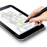 タブレット端末向け手書きアプリケーションの写真