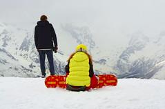 На вершине (Heavenward) (fly_jib) Tags: people mountain mountains outdoors outdoor люди горы streetfoto гора домбай