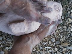 PICT0036 (Uri Sigal Galkin) Tags: new york sculpture ny art museum germany israel telaviv mixed media doll gallery dolls ar tel aviv plaster plastic electronics electronic uri nimrod  sigal      galkin tsculpture  nimrodim