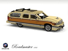 Buick Roadmaster Estate (1992) (lego911) Tags: auto birthday usa car america wagon buick model gm estate lego general render woody motors 1992 challenge v8 1990s 8th cad lugnuts 96 povray roadmaster moc ldd generationgap miniland foitsop lego911 happycrazyeighthbirthdaylugnuts
