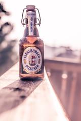 365 #160 (jonasfischle) Tags: beer bottle balkon herbst bier pils sonne flasche wetter stimmung plop apero terasse durst flensburger schn