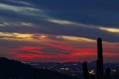 Spooky (craigeaton4350) Tags: sunset red arizona sky phoenix skyline lights desert mesa lassendas