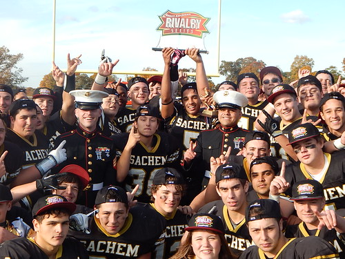 """Sachem North vs Bay Shore • <a style=""""font-size:0.8em;"""" href=""""http://www.flickr.com/photos/134567481@N04/22651766895/"""" target=""""_blank"""">View on Flickr</a>"""