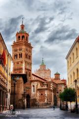 Catedral de Santa Mara de Mediavilla. Teruel. Espaa (FJcuenca) Tags: aragon catedral santamarademediavilla spain canoneos40d espagna espaa fjcuenca javiercuencamuoz tamrom18270 teruel aragn es