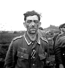 #German prisoner captured near Otterloo after a German counter-attack towards Otterloo, in an attempt to cut the 5th Canadian Division spearhead. Otterloo, The Netherlands. 17 Apr. 1945 [576 x 600] #history #retro #vintage #dh #HistoryPorn http://ift.tt/2 (Histolines) Tags: histolines history timeline retro vinatage german prisoner captured near otterloo after counterattack towards an attempt cut 5th canadian division spearhead the netherlands 17 apr 1945 576 x 600 vintage dh historyporn httpifttt2fsjxzt