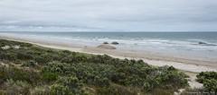 The Granites Beach, Coorong, South Australia (Sharon Wills) Tags: beach rock sand rocks cloudy south australian overcast australia boulder boulders shore granite southaustralia coorong cloudyday graniterocks thegranites thecoorong southaustralian graniterock graniteboulders graniteknobs