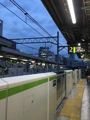 Electric Town (Cle0patra) Tags: holiday japan train tokyo platform railway barrier akihabara yamanoteline electrictown chiyoda 2015