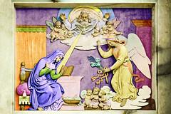 Annunciazione (bellinipaolo31) Tags: roma madonna scultura religione bassorilievo annunciazione colonnadellimmacolata fc03911