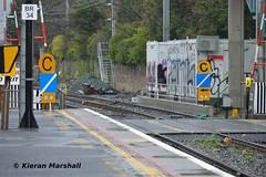 Bray, 12/12/15 (hurricanemk1c) Tags: irish signs train rail railway trains infrastructure railways bray irishrail 2015 iarnrd ireann iarnrdireann