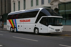 MEARNS EXCLUSIVE TRAVEL PO13LKY (bobbyblack51) Tags: travel glasgow trafalgar tri exclusive starliner axle mearns neoplan 2015 po13lky
