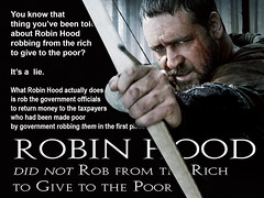 Robin Hood Robbed from the Government, Not the Rich (KAZVorpal) Tags: green film robin movie liberty kevin russell rich poor ridleyscott rob bbc bow government hood taxes arrow archery taxpayer crowe robinhood robbin lockley costner kingrichard littlejohn robbing kingjohn thirdcrusade sherrifofnottingham