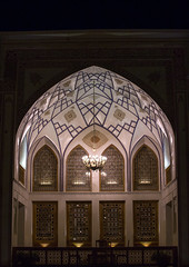 historic house at night, Isfahan Province, Kashan, Iran (Eric Lafforgue) Tags: travel house building vertical architecture night vintage outdoors photography hotel persian arch iran arcade middleeast persia nobody nopeople courtyard palace historic east iranian sight fullframe oriental orient kashan luxury kachan islamicarchitecture elegance destinations traveldestinations persiangulfstates  prestigious  16275 colourimage  iro isfahanprovince iranianculture  westernasia  historicalresidence