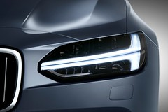 Thor's Hammer Headlight Volvo S90 Mussel Blue