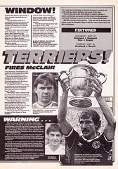 Match Magazine - 22/05/1987 - Page 7 (The Sky Strikers) Tags: england cup andy warning magazine scotland samba brian clash beat graeme match gary stern rous souness roxburgh mabbutt mcclair