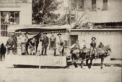 Parade Float, Horse Shoeing