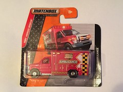 Matchbox On A Mission - MBX Heroic Rescue - Ford E350 Fire Department Ambulance - Die Cast Metal Miniature Scale Model Emergency Services Vehicle (firehouse.ie) Tags: tricounty econoline forde350 e350 mbxheroicrescue matchbox on a mission mbx heroic rescue ford ambulance bomberos bombero sapeurs sapeur pompier pompiers feuerwehr brandweer pompieri vigili fuoco bombeiro bombeiros straz hasici secours emergency 911 999 112 fireman firefighter firemen brigade firefighters department service fd fb sp services dept collectible collectibles collectable collectables ambulances unit ra bus paramedic paramedics doctor notarzt krankenwagen malteser rettungswagen ambulanz kastenwagen ems rettungsdienst