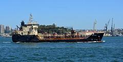 Anatoma 1 (PhillMono) Tags: new wales boat nikon ship harbour south sydney australia vessel dslr tanker underway broadside oiler d7100 anatoma