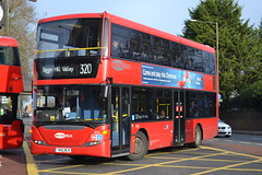 Go-Ahead London Metrobus 976 YR10BCK (Will Swain) Tags: city uk travel england bus london buses december britain south capital transport east vehicles vehicle greater seen 19th 976 metrobus bromley 2015 goahead yr10bck