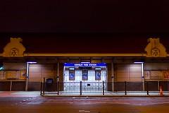 Wembley Park Station, HA9 (LFaurePhotos) Tags: road street building station architecture night train quiet empty londonunderground middlesex deserted metropolitanline jubileeline 1923 northwestlondon chilternrailways