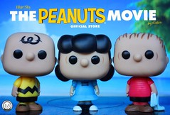 Peanuts! Charlie Brown, Linus & Lucy (PrinceMatiyo) Tags: peanuts snoopy charliebrown funko lucyvanpelt linusvanpelt funkopop
