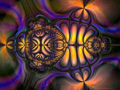 Bug - Tweak of Cubrat by G Thornton (CopperScaleDragon) Tags: abstract bug tweak fractal jax jux cubrat