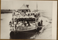 Steamboat Laden with Schoolchildren