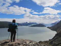 """Torres del Paine: trek du W. Jour 5: le Lago et le Glaciar Grey. <a style=""""margin-left:10px; font-size:0.8em;"""" href=""""http://www.flickr.com/photos/127723101@N04/29636437553/"""" target=""""_blank"""">@flickr</a>"""