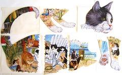 Beach Cats - zerlegt (Leonisha) Tags: puzzle jigsawpuzzle zerlegung