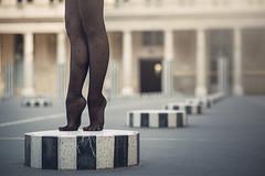 (dimitryroulland) Tags: nikon d600 85mm 18 dimitry roulland dance dancer paris france urban street city ballet ballerina feet foot legs leg palais royal natural light art performer
