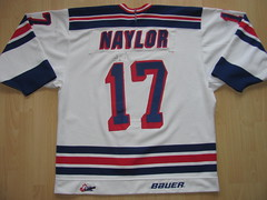 #17 Bobby NAYLOR Game Worn Jersey (kirusgamewornjerseys) Tags: kitchener rangers ohl worn naylor game jersey ice hockey